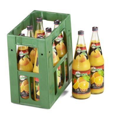 GÜLDENKRON 10L-Orange-Direktsaft-Kiste