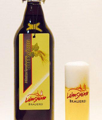 LAHNSTEINER OBERGÄRIG MAGNUM Flasche 1 x 1,0 Liter
