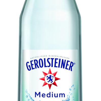 GEREOLSTEINER MINERALWASSER MEDIUM Glas 6 x 1,0 Liter