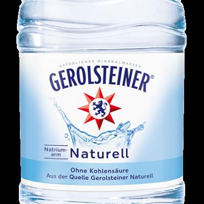 GEROLSTEINER MINERALWASSER NATURELL 12 x 0,5 Liter