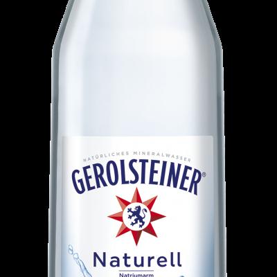 GEROILSTEINER MINERALWASSER NATURELL Glas 6 x 1,0 Liter