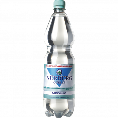 NÜRBURG QUELLE MEDIUM 12 x 1,0 Liter PET