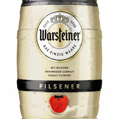 FASSBIER WARSTEINER PILSENER 5 Liter