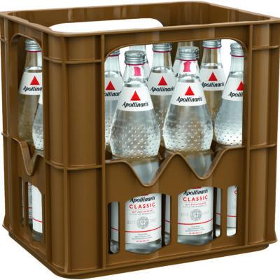 APOLLINARIS – Natürliches Mineralwasser mit Kohlensäure versetzt.