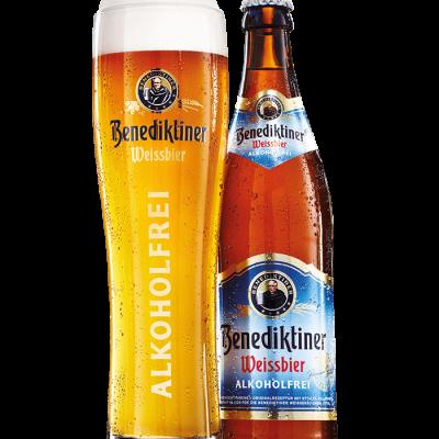 BENEDIKTINER WEISSBIER ALKOHOLFREI – 20 x 0,5 Liter