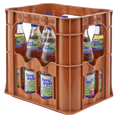 BERG QUELLE Apfelschorle Kasten – 12 x 0,7 Liter