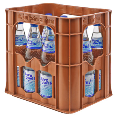 BERG QUELLE Mineralwasser Classic Kasten-12 x 0,7 Liter