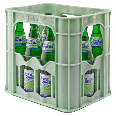 BERG QUELLE Mineralwasser Medium Kasten-12 x 0,7 Liter