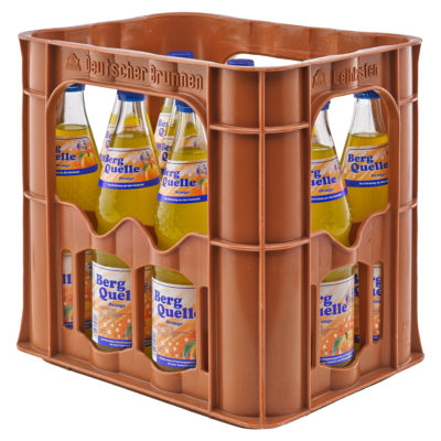 BERG QUELLE Orange Kasten 12 x 0,7 Liter