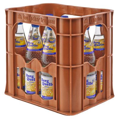 BERG QUELLE Zitrone Kasten 12 x 0,7 Liter