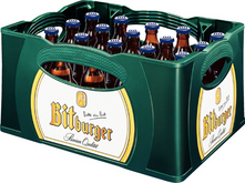BITBURGER ALKOHOLFREI STUBBI 24 x 0,33 Liter