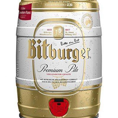 FASSBIER BITBURGER PREMIUM PILS 5 Liter
