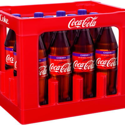 COCA-COLA CHERRY 1 L PET Mehrweg Flasche
