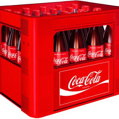 COCA-COLA 20 x 0,5 Liter Glas Mehrweg Flasche