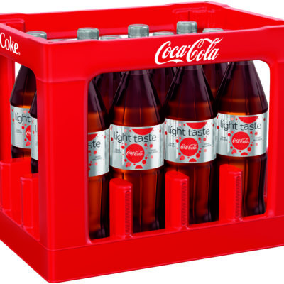 Coca-Cola light taste 1 L PET Mehrweg Flasche-COLA