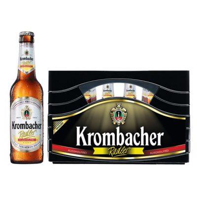 KROMBACHER RADLER ALKOHOLFREI 24 x 0,33 Liter