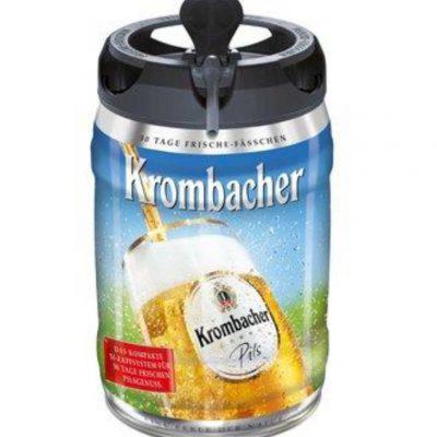 FASSBIER KROMBACHER PILS 5 Liter