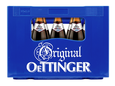OETTINGER MIXED BIER & COLA 20 x 0,5 Liter