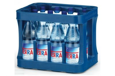 TERRA MINERALWASSER SPRITZIG PET 12 x 1,0 Liter