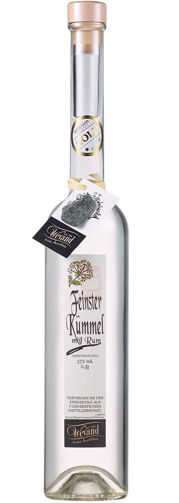 Westerwälder Kümmel mit Rum Spezialität Westerwaldbrennerei Edledestillerie Weyand